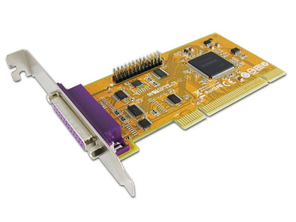 Sunix ParallelIEEE1284 Card 2-Port, PCI Interface, Win 7/8