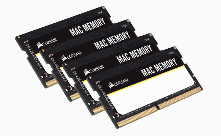 Corsair 32GB (4x8GB) DDR4 SODIMM 2666MHz 1.2V Memory for Mac Memory RAM