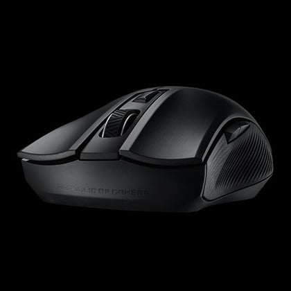 ASUS ROG Strix Carry P508  Gaming Mouse optical gaming mouse with dual 2.4GHz/Bluetooth wireless connectivity