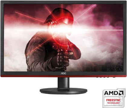 AOC 24' 1ms 75Hz Full HD FreeSync Gaming Monitor - HDMI/DP/VGA, Speaker, Game Modes, VESA100mm (LS)  MNAO-24G2E5