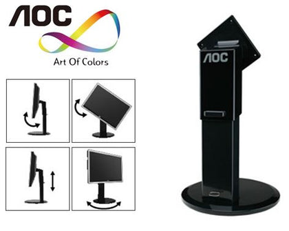 AOC 100mm 4-Way Adjustable Stand (LS)