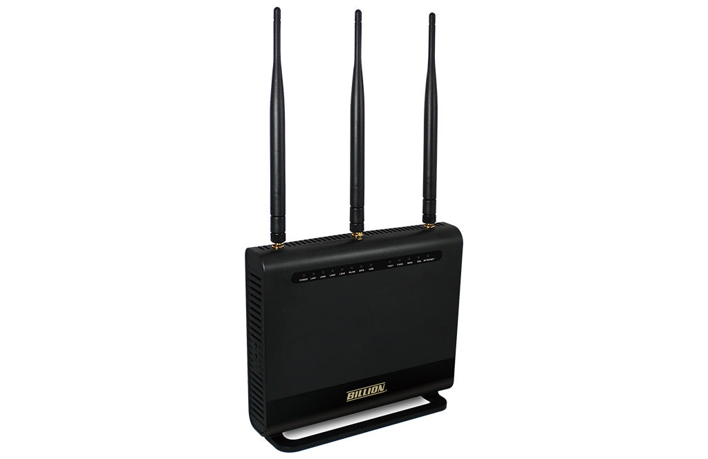 Billion BIPAC8700AXL Triple-WAN Wireless 1600Mbps, 3G/4G LTE and VDSL2/ADSL2+ Firewall Router
