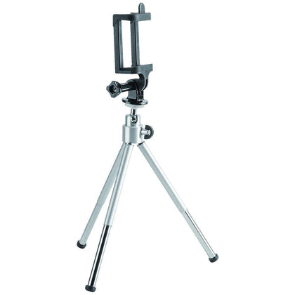 Brateck Mini Tripod for Digital Camera and Phones with GoPro Adapter and Smartphone Holder(LS)