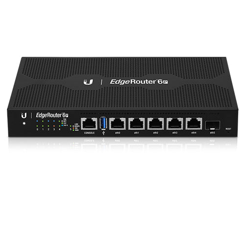 Ubiquiti EdgeRouter 6-Port Firewall Router with 24v PoE Output