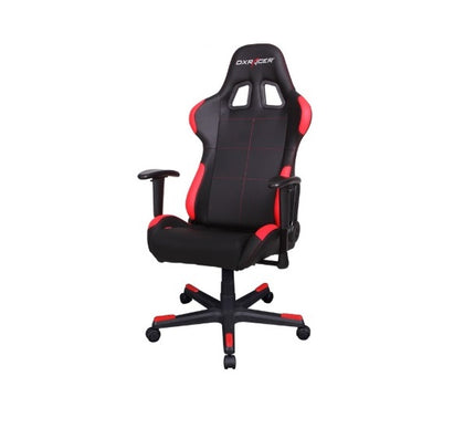DXRacer Formula FD99 Gaming Chair Black & Red - Sparco Style/Racing Bucket Office/Gaming Computer Seat/Ergonomic Desk Chair
