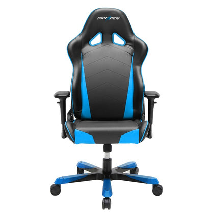 DXRacer Tank TS29 Gaming Chair Black & Blue - Sparco Style Neck/Lumbar Wide Seating Support/Maximum load 220kg/Universal Gaming Padded Seat