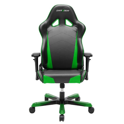 DXRacer Tank TS29 Gaming Chair Black & Green - Sparco Style Neck/Lumbar Wide Seating Support/Maximum load 220kg/Universal Gaming Padded Seat