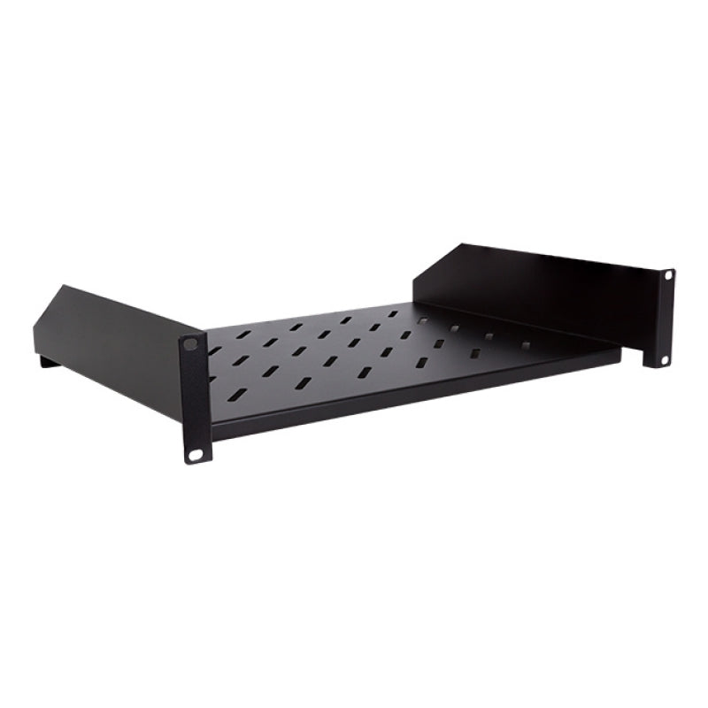LinkBasic Cantilever 2RU 300mm Deep Fixed Shelf Suitable with 19' 600mm Deep Cabinet only (compatible with Ubiquiti ES/US-8-150W)
