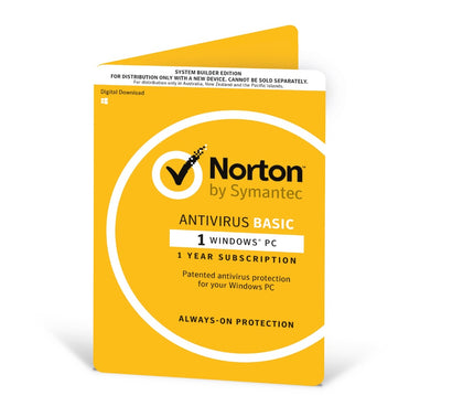 Norton Antivirus 2020 , 1 User, 1 Device, 12 Months, PC Only, OEM