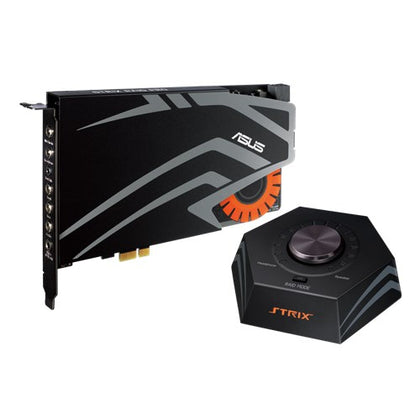 ASUS STRIX-RAID-PRO 7.1 PCIe Gaming Sound Card, Audiophile-grade DAC, 116dB SNR