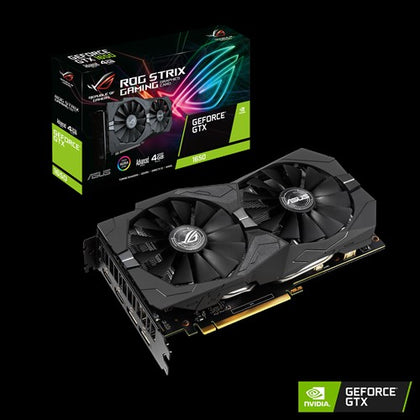 Asus nVidia ROG-STRIX-GTX1650-A4G-GAMING GeForce GTX 1650 4G GDDR5 2x HDMI/2x DP 1710 Boost