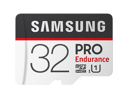 Micro Sdhc 32 Gb Pro Endurance /W Adapter, Uhs 1 Sdr104, Class 10, Up To 100 Mb/S Read, 30 Mb/S Write, 2 Years Warranty