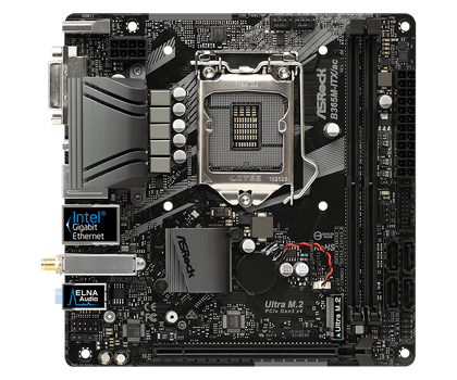 CPU:Supports 9th and 8th Gen Intel Core Processors (Socket 1151);Chipset:Intel 365;Memory:Dual Channel DDR4 Memory Technology