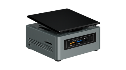 Boxed Intel Nuc Kit, Nuc6 Cayh, Single Pack