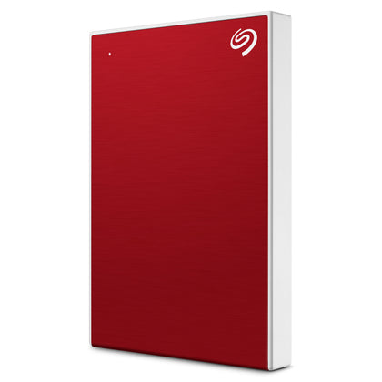 Seagate Backup Plus Slim, Red, 1 Tb, 3 Yrs