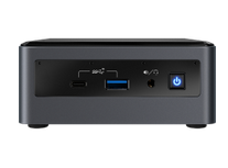 Intel Nuc Kit, Nuc10i5 Fnh, W/ Au Cord, Single Pack