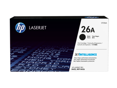 Hp 26 A Black Laser Jet Toner Cartridge
