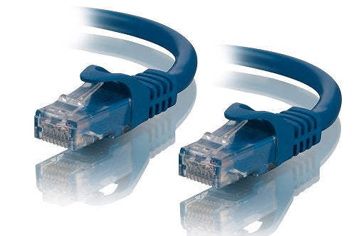 Alogic 15m Blue 10 G Shielded Cat6 A Network Cable   Moq:2