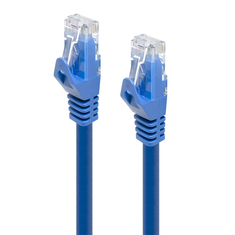 Alogic 2m Blue Cat6 Network Cable   Box Packaging     Moq:6
