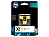 Hp 02 Ap Yellow Ink Cartridge