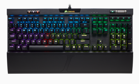 K70 RGB MK.2 Mechanical Gaming Keyboard - CHERRY MX Blue