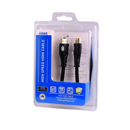 HDMI Cable V2.0 2m Gold 1080p - MOQ 20