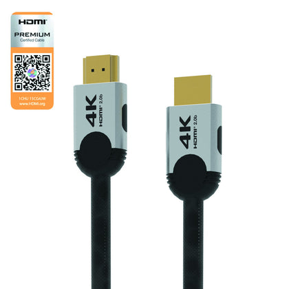 HDMI V2.0 Cable Premium Certified 4K GOLD in 2m - MOQ 4