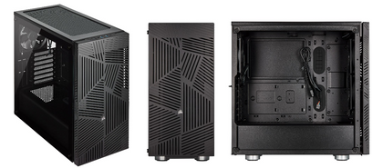 Corsair 275 R Airflow Tempered Glass Mid Tower Gaming Case, Black