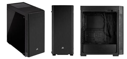 Corsair 110 R Tempered Glass Mid Tower Atx Case