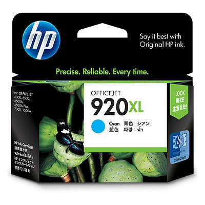 Hp 920 Xl Cyan Ink Cartridge,Officejet 6500