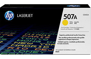 Hp507 A Yellow Lj Prt Cartridge