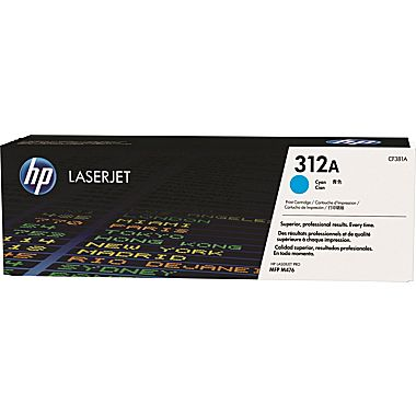HP 312A Cyan LaserJet Toner Cartridge