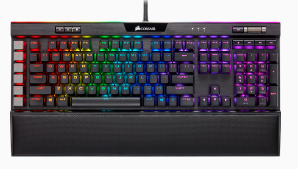 K95 RGB PLATINUM XT Mechanical Gaming Keyboard - CHERRY MX Brown