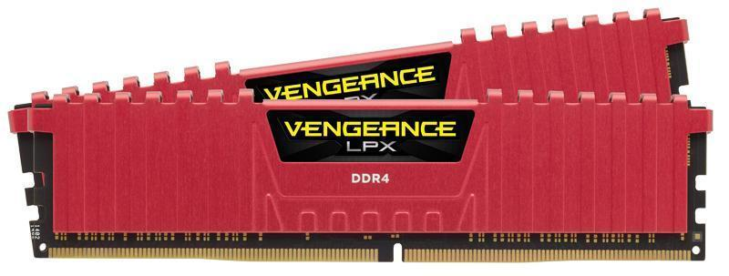 Corsair Vengeance Lpx 16 Gb (2x8 Gb) Ddr4 Dram Dimm 2400 M Hz Unbuffered 16 16 16 39 Red Heat Spreader 1.20 V Xmp 2.0