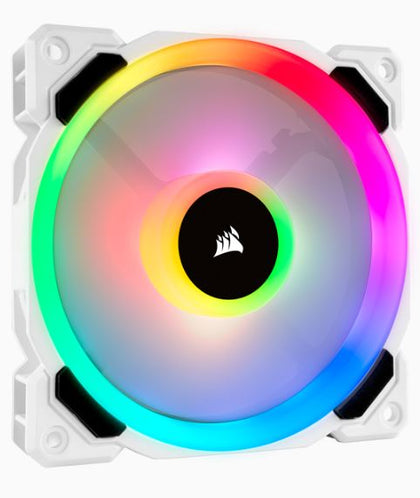 Ll120 Rgb White Single Fan