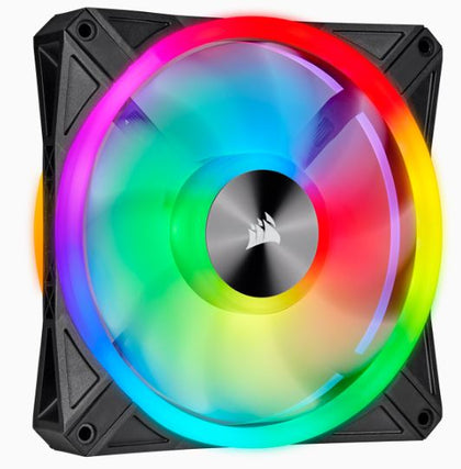 CORSAIR QL Series, QL140 RGB, 140mm RGB LED Fan, Single Pack