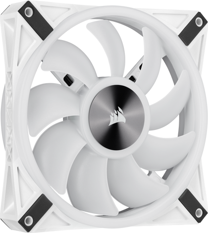 WHITE QL140 RGB, 140mm RGB LED Fan, Single Pack