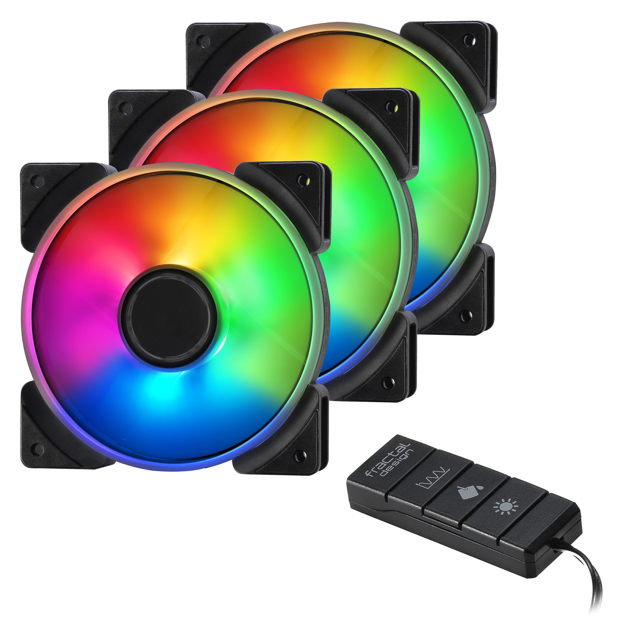 Fractal Design Adjust R1 Rgb Fan Controller, Black