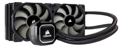 Corsair Hydro Series, H100x 240mm Radiator, Dual 120mm PWM Fans, Liquid CPU Cooler