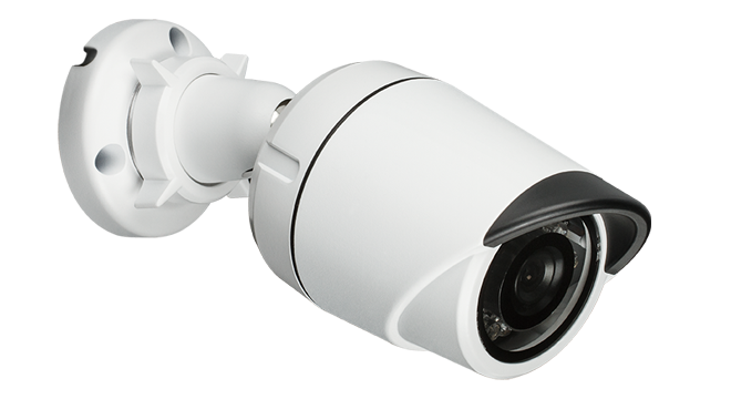Vigilance Hd Day & Night Outdoor Mini Bullet Po E Network Camera