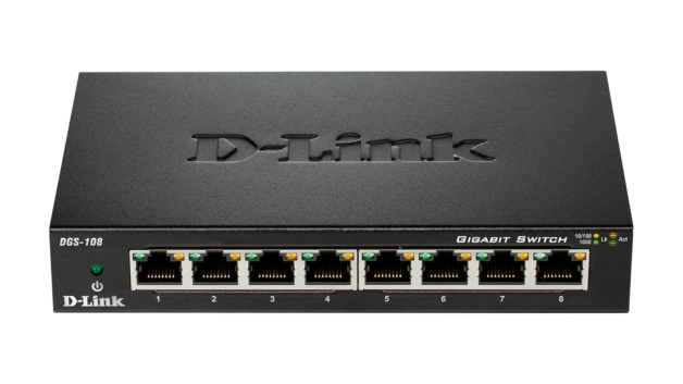 8 Port Gigabit Desktop Switch (Metal Housing)