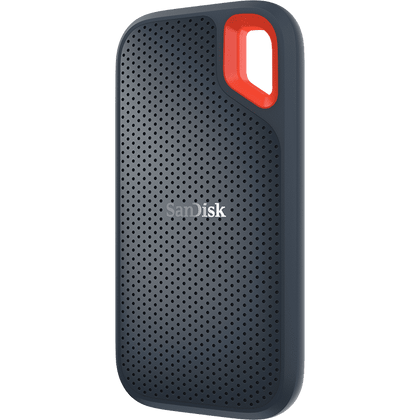 San Disk Extreme Portable Ssd,Usb 3.1, Type C & Type A Compatible,Speeds Up To 550 Mb/S,Ip55 Dust Water Resist,3 Y