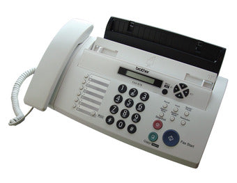 Brother Fax 878 Thrml Trnsfr Fax,Upto 20 Pg Memory,10 Pg Adf,Duet&Caller Id