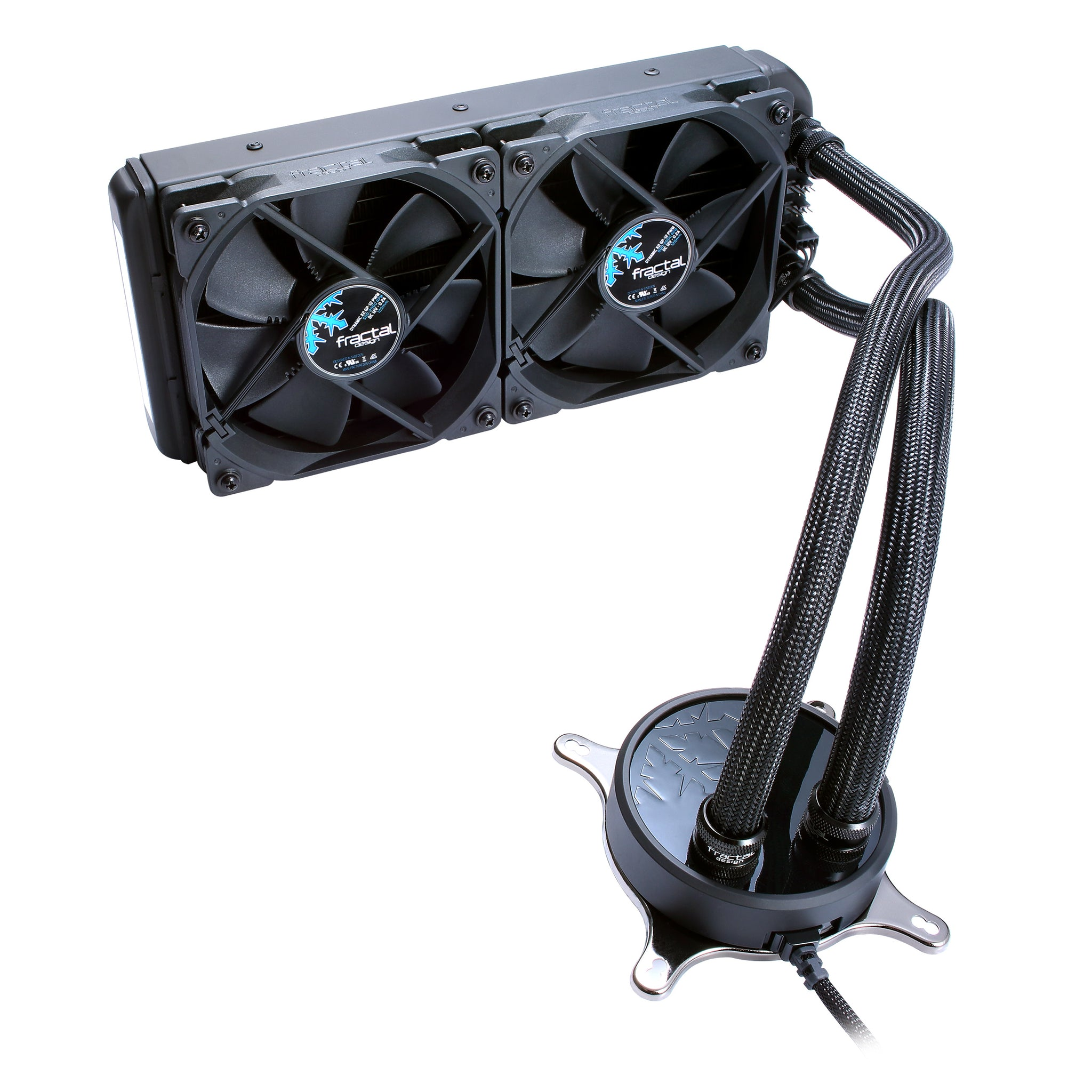 Celsius Water Cooling Unit S24 Blackout, Coldplate: 5th Gen, Intergrated Sound Damping, Fan:Dynamic X2 Gp 12 Pwm, Warranty:5yr