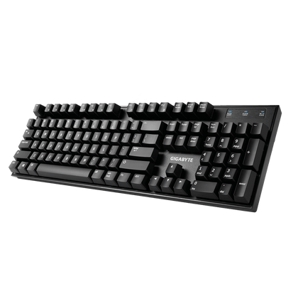 Gigabyte, Force K81, Mechanical Gaming Keyboard, RED Switch, Full-range anti-ghosting capability, USB2.0, 2 Years Warranty