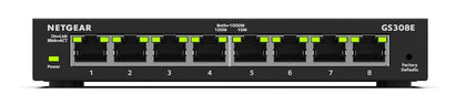 SOHO 8-port Gigabit Smart Managed Plus Switch