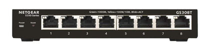 S350 Series 8-port Gigabit Ethernet Smart Managed Pro Switch