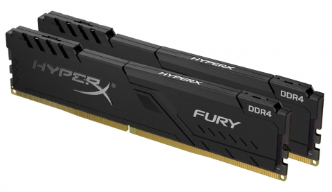 16 Gb 2400 M Hz Ddr4 Cl15 Dimm (Kit Of 2) 1 Rx8 Hyper X Fury Black