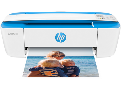 HP DeskJet 3720 All-in-One,Print, copy, scan, wireless,64MB,Up to 19 ppm,Up to 1000 pages/mth,360 MHz,3.34kg