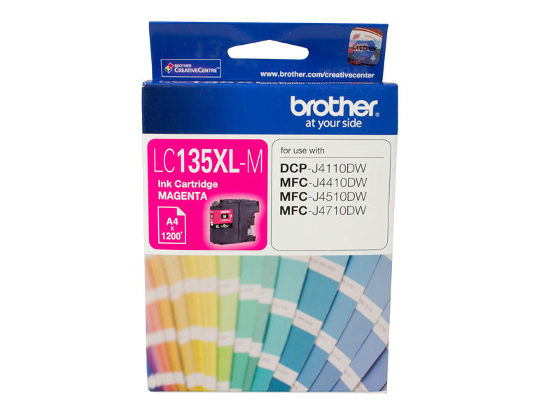 MAGENTA INK CARTRIDGE TO SUIT DCP-J4110DW/MFC-J4410DW/J4510DW/J4710DW - UP TO 1200 PAGES